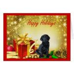 Tarjeta de Navidad del labrador retriever Gift11