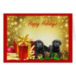 Tarjeta de Navidad del labrador retriever Gift5