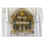 Tarjeta de Navidad del órgano de Berlín