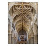 Tarjeta de Navidad del órgano de Exeter