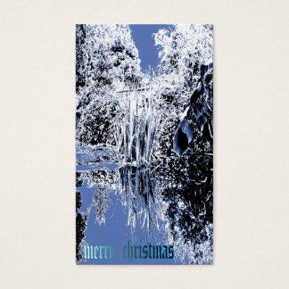 tarjeta de Navidad del país de las maravillas del Tarjetas De Visita