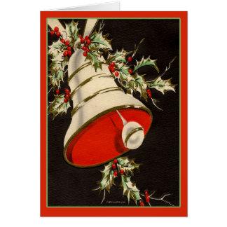 Tarjeta de Navidad del vintage