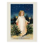 "Tarjeta de Navidad del vintage de ""Gesegnete Weihn Tarjetas Postales"