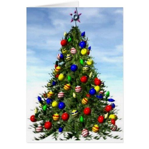 Tarjeta de Navidad enérgica mala---Divertido