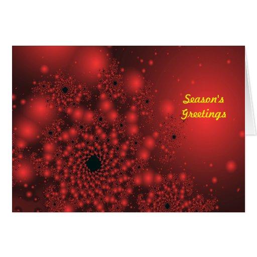 Tarjeta de Navidad espectacular
