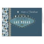 Tarjeta de Navidad fabulosa de Las Vegas