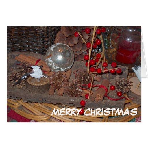 Tarjeta de Navidad/Felices Navidad