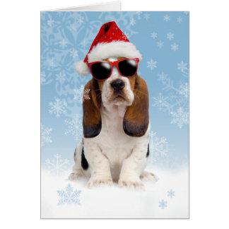 Tarjeta de Navidad fresca de Yule