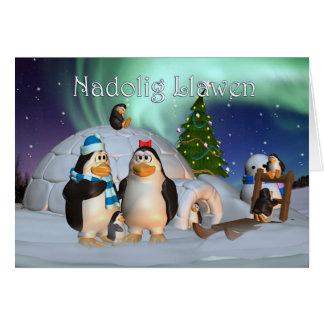 Tarjeta de Navidad Galés Nadolig Llawen