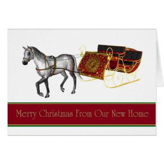 Tarjeta de Navidad   hemos movido la nueva