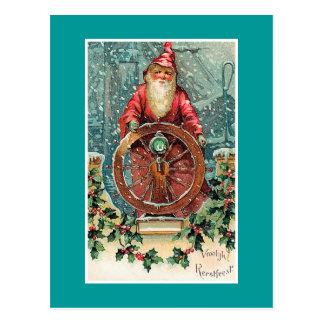 Tarjeta de Navidad holandesa del vintage de Tarjetas Postales