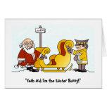 Tarjeta de Navidad irritable