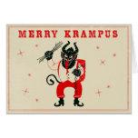Tarjeta de Navidad - Krampus