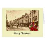 Tarjeta de Navidad - la calle principal, Oxford