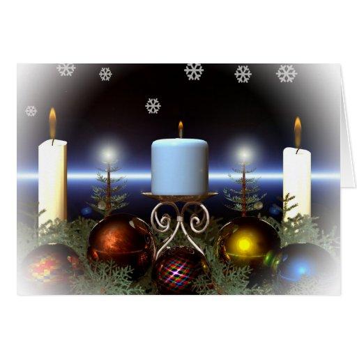 Tarjeta de Navidad linda