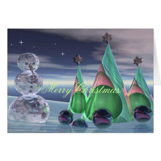 Tarjeta de Navidad linda del diseño