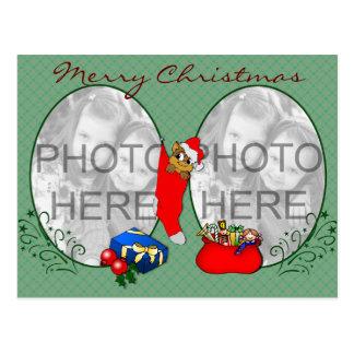 Tarjeta de Navidad linda Tarjeta Postal