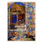 Tarjeta de Navidad medieval 1