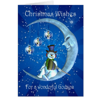 Tarjeta de Navidad, navidad del ahijado