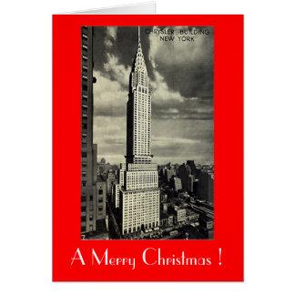 Tarjeta de Navidad, New York City