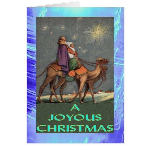 Tarjeta de Navidad - ningunos 7 de 9 - José y Mari