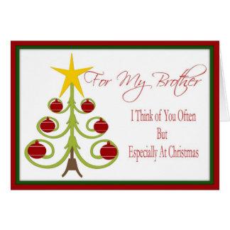 Tarjeta de Navidad para Brother