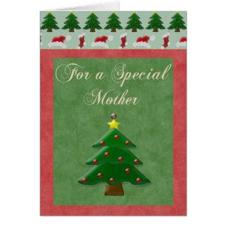 Tarjeta de Navidad para la madre