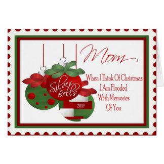 Tarjeta de Navidad para la mamá