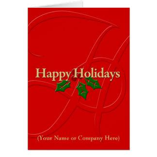 Tarjeta de Navidad personalizada personalizado con