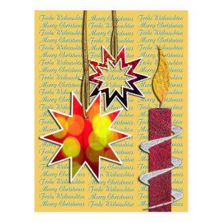 Tarjeta de navidad postal