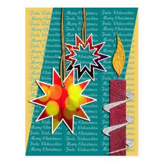 Tarjeta de navidad postales