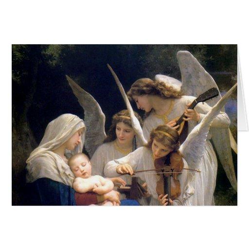 Tarjeta de Navidad religiosa