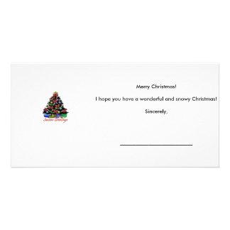 Tarjeta de Navidad Tarjetas Con Fotos Personalizadas