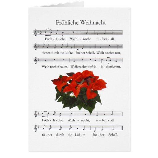 "Tarjeta de navidad ""Weihnacht Jovial """