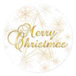 Tarjeta de Navidad y ornamento - oro - tarjeta Anuncio Personalizado