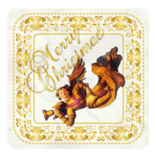 Tarjeta de Navidad y tarjeta del ornamento 2 del Invitación Personalizada