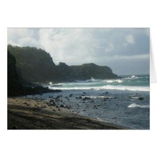 Tarjeta de Northshore Maui