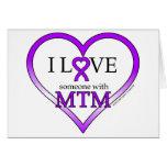 Tarjeta de nota - amor de I alguien con MTM