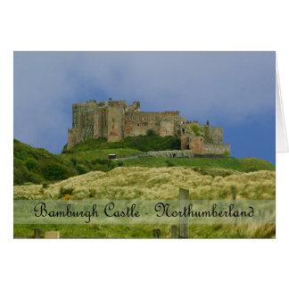 tarjeta de nota BRITÁNICA de Northumberland del ca