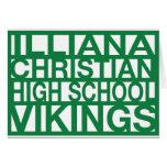 Tarjeta de nota de ICHS Vikingos