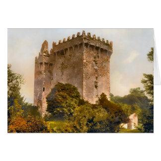 Tarjeta de nota de Irlanda del castillo de la