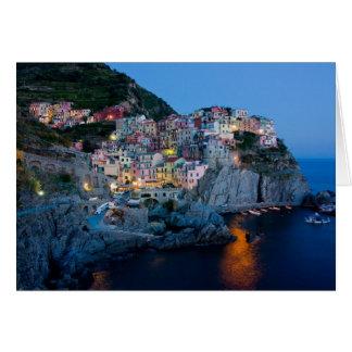 Tarjeta de nota de Italia