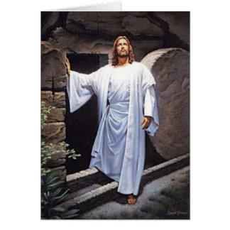 tarjeta de nota de Jesús