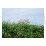 Tarjeta de nota de la casa de playa de Cape Cod