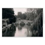 Tarjeta de nota de la foto de Cambridge