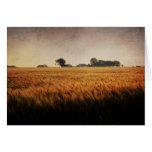 Tarjeta de nota de la foto del arte de la granja d