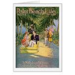 Tarjeta de nota de la vida #10 del Palm Beach