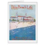 Tarjeta de nota de la vida #11 del Palm Beach