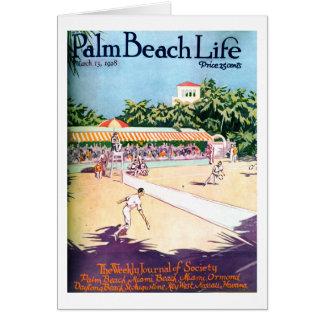 Tarjeta de nota de la vida 12 del Palm Beach