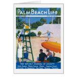 Tarjeta de nota de la vida #14 del Palm Beach